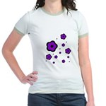 purple Jr. Ringer T-Shirt