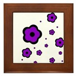 purple Framed Tile