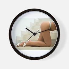 Sexy Female Legs Wall Clock