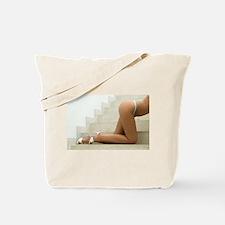 Sexy Female Legs Tote Bag