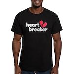 Heart Breaker Men's Fitted T-Shirt (dark)