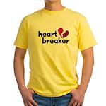 Heart Breaker Yellow T-Shirt