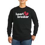 Heart Breaker Long Sleeve Dark T-Shirt