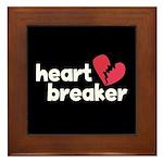 Heart Breaker Framed Tile