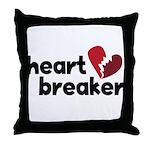 Heart Breaker Throw Pillow