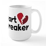 Heart Breaker Large Mug