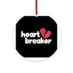 Heart Breaker Ornament (Round)