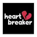 Heart Breaker Tile Coaster