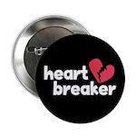 "Heart Breaker 2.25"" Button (10 pack)"