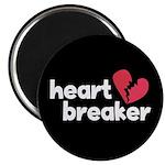 """Heart Breaker 2.25"""" Magnet (10 pack)"""