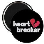 """Heart Breaker 2.25"""" Magnet (100 pack)"""