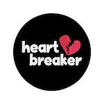 "Heart Breaker 3.5"" Button (100 pack)"