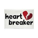 Heart Breaker Rectangle Magnet (10 pack)