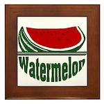 Watermelon Framed Tile