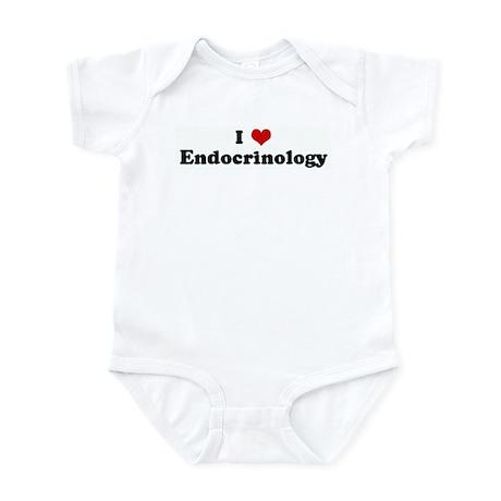 I Love Endocrinology Infant Bodysuit
