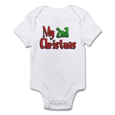 My 2nd Christmas Infant Bodysuit