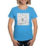 Sky Roller Pigeons Women's Dark T-Shirt