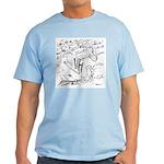 Sky Roller Pigeons Light T-Shirt