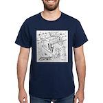 Sky Roller Pigeons Dark T-Shirt