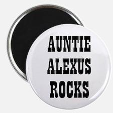 "AUNTIE ALEXUS ROCKS 2.25"" Magnet (10 pack)"