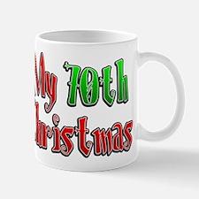 My 70th Christmas Mug