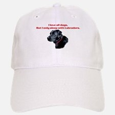 Sleep with Labradors Baseball Baseball Cap