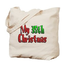 My 35th Christmas Tote Bag