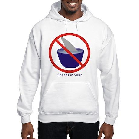 Shark Fin Soup Hooded Sweatshirt