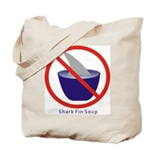 Shark Fin Soup Tote Bag