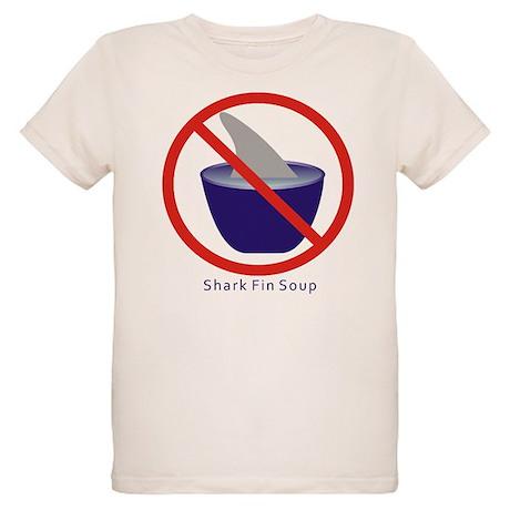 Shark Fin Soup Organic Kids T-Shirt