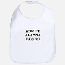 AUNTIE ALAYNA ROCKS Bib