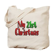 My 21st Christmas Tote Bag