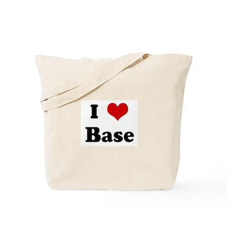 I Love Base Tote Bag