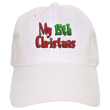 My 15th Christmas Baseball Cap