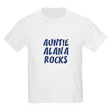 AUNTIE ALANA ROCKS Kids T-Shirt