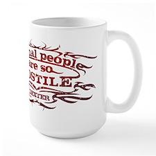 Normal People Red Mug