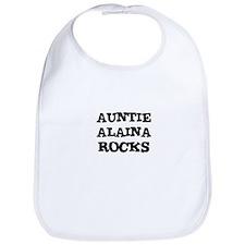 AUNTIE ALAINA ROCKS Bib