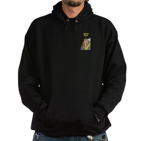 Armadillo Safety First Hoodie (dark)