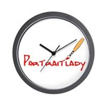 Portraitlady Wall Clock