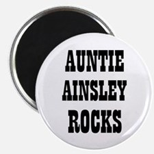 """AUNTIE AINSLEY ROCKS 2.25"""" Magnet (10 pack)"""