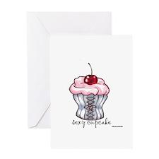 Sexy Cupcake Greeting Card