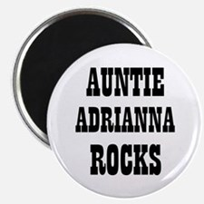 """AUNTIE ADRIANNA ROCKS 2.25"""" Magnet (10 pack)"""