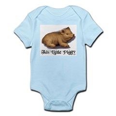 THIS LITTLE PIGGY Infant Creeper