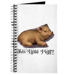 THIS LITTLE PIGGY Journal