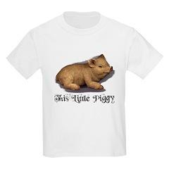 THIS LITTLE PIGGY Kids T-Shirt