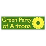 Green Party of Arizona bumper sticker