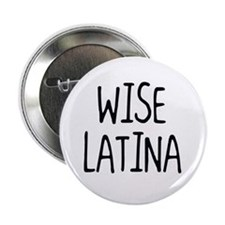 """'Wise Latina' 2.25"""" Button"""