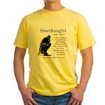Thinker Yellow T-Shirt
