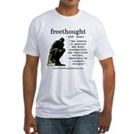 Thinker Fitted T-Shirt