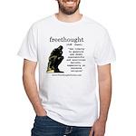 Thinker White T-Shirt
